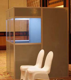 Rental /sewa professional booths